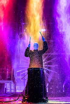 Blue Man Group Drumming It Up All Weekend at the Majestic Theatre for 'Speechless' Tour