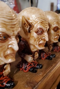 San Antonio Artist 'Dingy Dave' Unveils Lil' Orlock Nosferatu Toy Just in Time for Gift Shopping Season