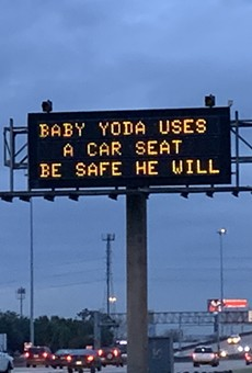 Highway Signs Across Texas Display Star Wars-Themed Safety Messages to Honor the Release of The Rise of Skywalker (2)
