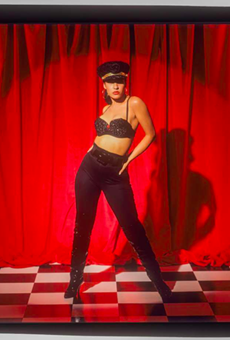 Selena is shown in a 1992 print from photographer John Dyer.