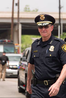 Top cop William McManus expressed frustration in a recent case where a fired officer was reinstated after arbitration.