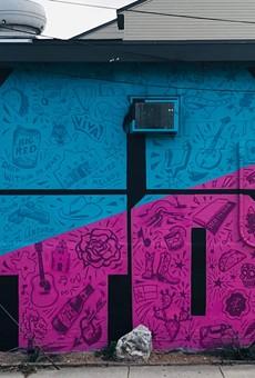 Local Artist Matt Tumlinson Unveils Mural Celebrating All Things Puro San Antonio