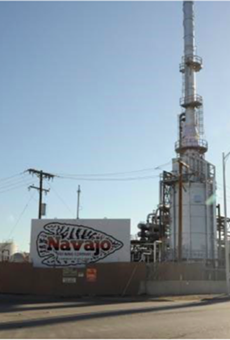 The Navajo refinery in New Mexico has been identified as one of the nation's worst benzene polluters.