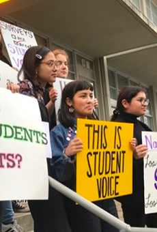 Students Ask San Antonio Independent School District Board to Rein in Campus Discipline by Police (2)