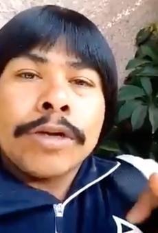 Mexican Comedian Chaparro Chuacheneger Gives Shoutout to San Antonio Taqueria