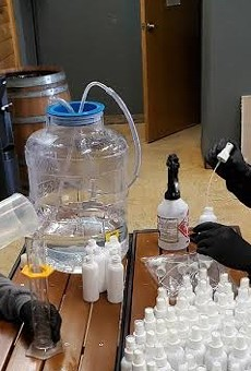 San Antonio Brewer and Distiller Ranger Creek Making Free Hand Sanitizer to Keep Up With Shortage