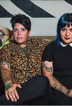Review: San Antonio's Fea Seizes on Video Streaming and Delivers Riot Grrrl Punch With Bikini Kill Set (4)