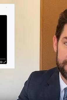 John Krasinski Shouts Out H-E-B Employees on His Some Good News YouTube Show