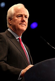 Texas voters are almost evenly split whether Sen. John Cornyn is doing a good job or a bad one.