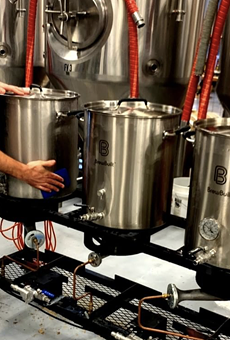 Roadmap Brewing Company raffled off their original 15-gallon Roadmap brew system to benefit the SA Food Bank.