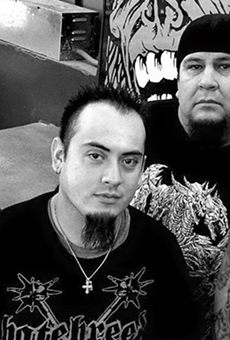 The band Decimate is one of the performers scheduled for this year's Memorial Day Metalfest.