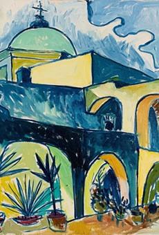 Artist Cruz Ortiz Opens Virtual Gallery of San Antonio Missions Oil Paintings
