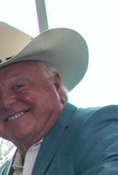 Sid Miller yucks it up at a recent U.S. Department of Agriculture event.