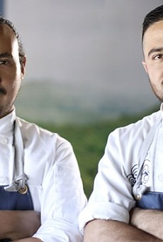 San Antonio chef Rico Torres (left) will appear on Hulu's new original series, 'Taste the Nation.'