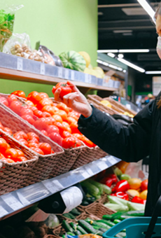 Grocery shopping is considered a low-moderate risk, according to the Texas Medical Association.