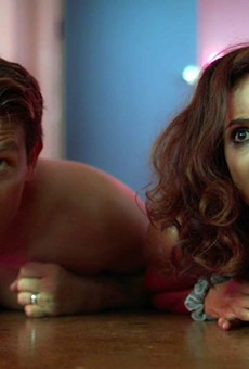 Kevin (L) and Leslie Alejandro in Adult Night