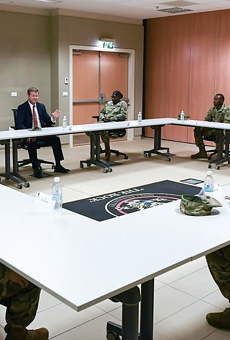 Secretary of the Army Ryan McCarthy met with Fort Hood soldiers to discuss sexual assault, discrimination, and health & welfare within the ranks of the Army.