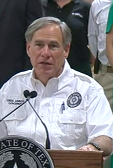 Texas Gov. Greg Abbott addresses school reopening at a news conference in San Antonio.