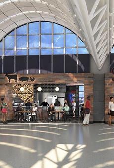 Smoke Shack is one of many foodservice establishments inside SA International Airport.