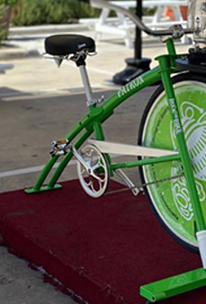 Weekend Workout: Earn That Margarita on New Blender Bikes in Market Square
