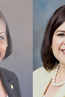 Tensions ran high yesterday in a debate between mayoral candidates Ivy Taylor and Leticia Van de Putte.