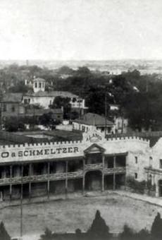The Alamo, circa 1890.