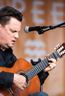 Mark Kozelek of Sun Kil Moon plays at the Coates Chapel of Southwest School of Art on November 19