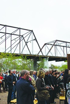 Months go by and the property dispute at the Hays Street Bridge remains unsolved.