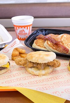 A look at what an eggless breakfast will look like from 11 p.m. to 4:59 a.m. at Whataburger.