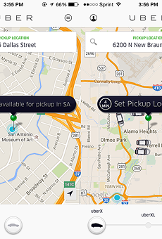 Complicated: Uber riders have found a hit-or-miss loophole to get around SA.