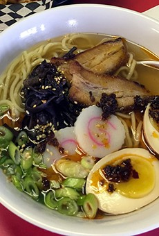 Quality over quantity at Nama Ramen, where noodle options are limited but worth it.