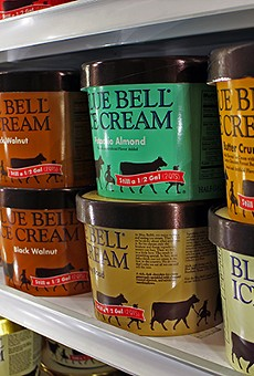 "Blue Bell says it will ""reassess everything."""