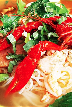 Who's ready for some crawfish pho?