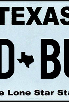 COVID69,MUD BUTT and NOPENIS are among the vanity plates Texas has rejected this year