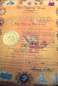 Here's What You Need To Obtain A Marriage License In Bexar County