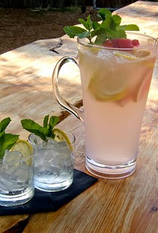 Ice-cold spiked pink lemonade from Alchemy is just one way to get turnt.