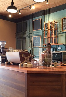 Coffe-hounds, rejoice – White Elephant features house-roasted beans.
