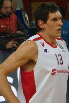 Boban Marjanovic is the newest San Antonio Spur.