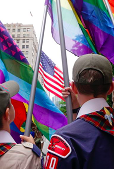 The Boy Scouts of America is set to end its ban on gay adult leaders.