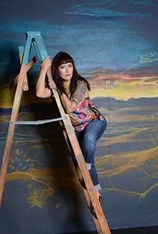 Marisela Barrera, who's working on her MFA at Our Lady of the Lake, brings a show based on her border region upbringing.