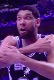 Exhibit A of Tim Duncan Crazy Eyes.