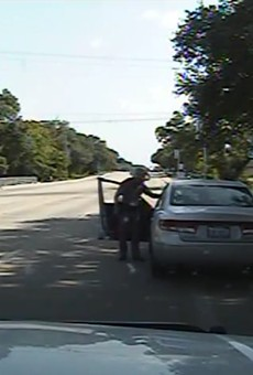 After Sandra Bland stood up for her rights, this DPS officer threatened her with a Taser.
