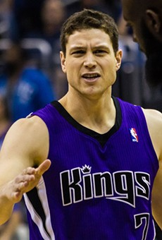 Jimmer Fredette signed with the San Antonio Spurs today.