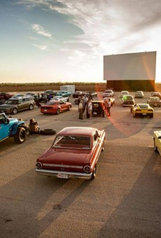 New Braunfels' Stars & Stripes Drive-In's owner said he's not been contacted by the Trump campaign.