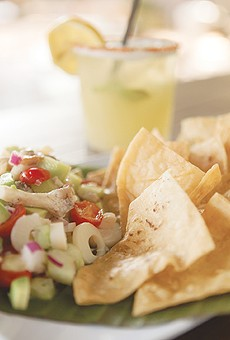 There's no need for fish in La Botánica's ceviche.