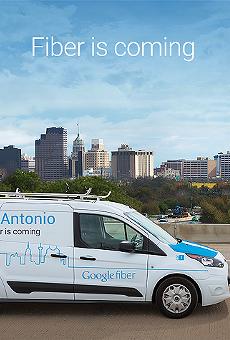 Google Fiber is coming to San Antonio.
