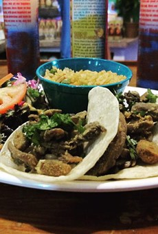 Viva Vergeria has added portabella chicharron tacos to the menu at its newly opened location.