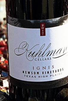 Fredericksburg's Kuhlman Cellars kicks off Texas wine month with release of rare red