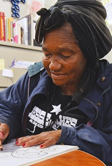 Not much is known about Virgil Dorie. That's not even her real name. She has been at Haven For Hope homeless shelter for five years.