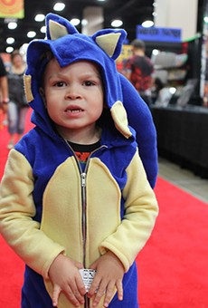 A side-effect of attending Alamo City Comic Con is a sudden urge to procreate and a compulsion to purchase many, many pop culture toddler-size onesies.